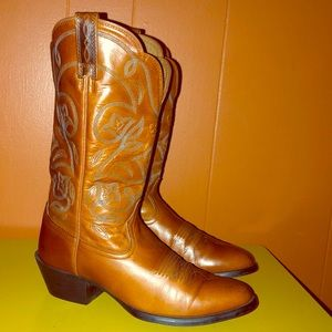 Ariat Heritage Brown Leather Cowboy Boots 15740